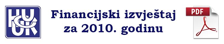 fin izvjestaj2010