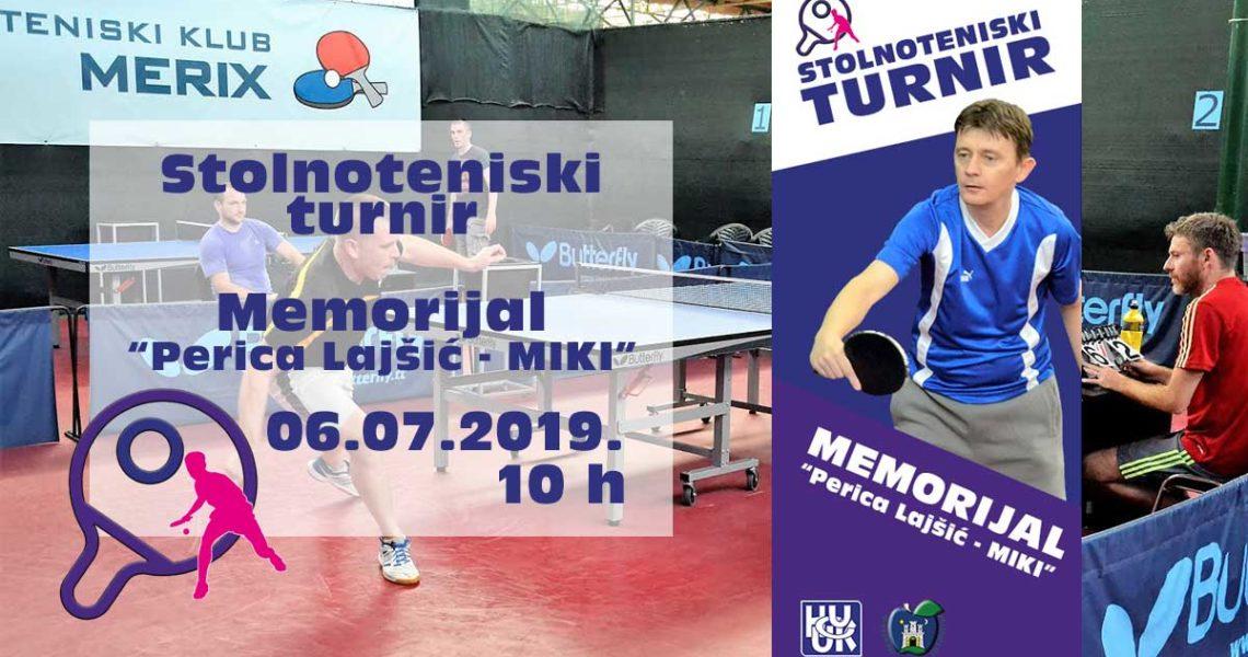 Perica Lajšić Miki turnir 2019